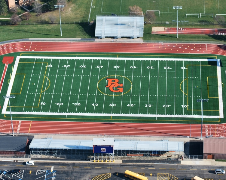 Buffalo Grove High School Football field
