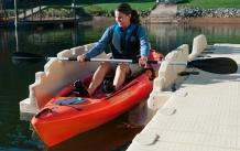 EZ KL- Kayak exiting launch