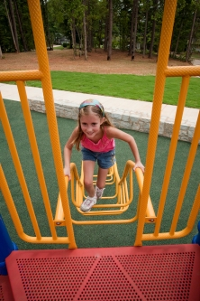 Miracle Recreation Playground at the Chapel Hill Park in Decatur, Georgia